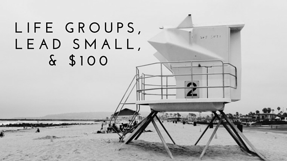 Life Group, Lead Small, & $100