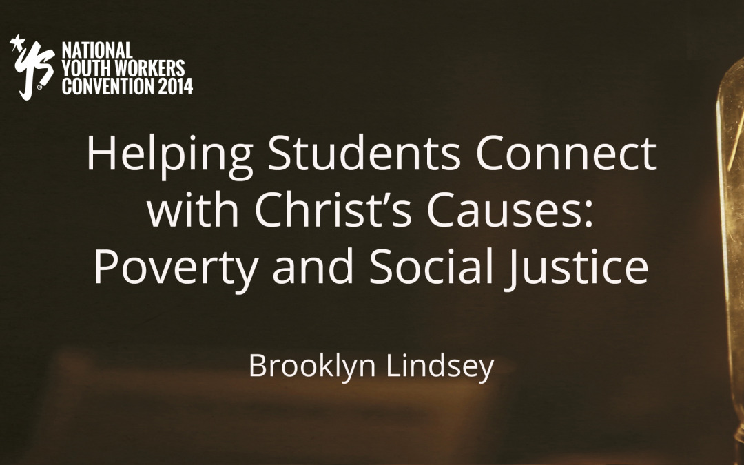 Helping Youth Connect With Christ Causes