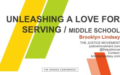 Unleashing A Love For Serving In Middle School Ministry